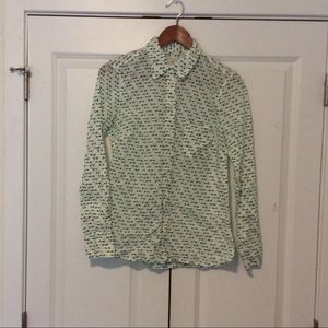 GAP Tops - Gap Long sleeve button up size small